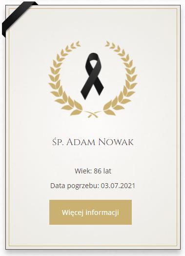 nekrolog online
