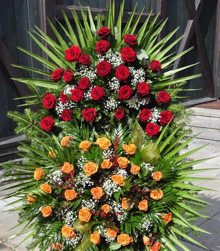 kwiaty pogrzeb